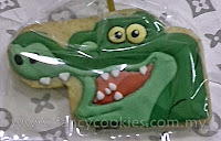 disney's jake and the neverland pirates fancy cookies tick tock the crocodile