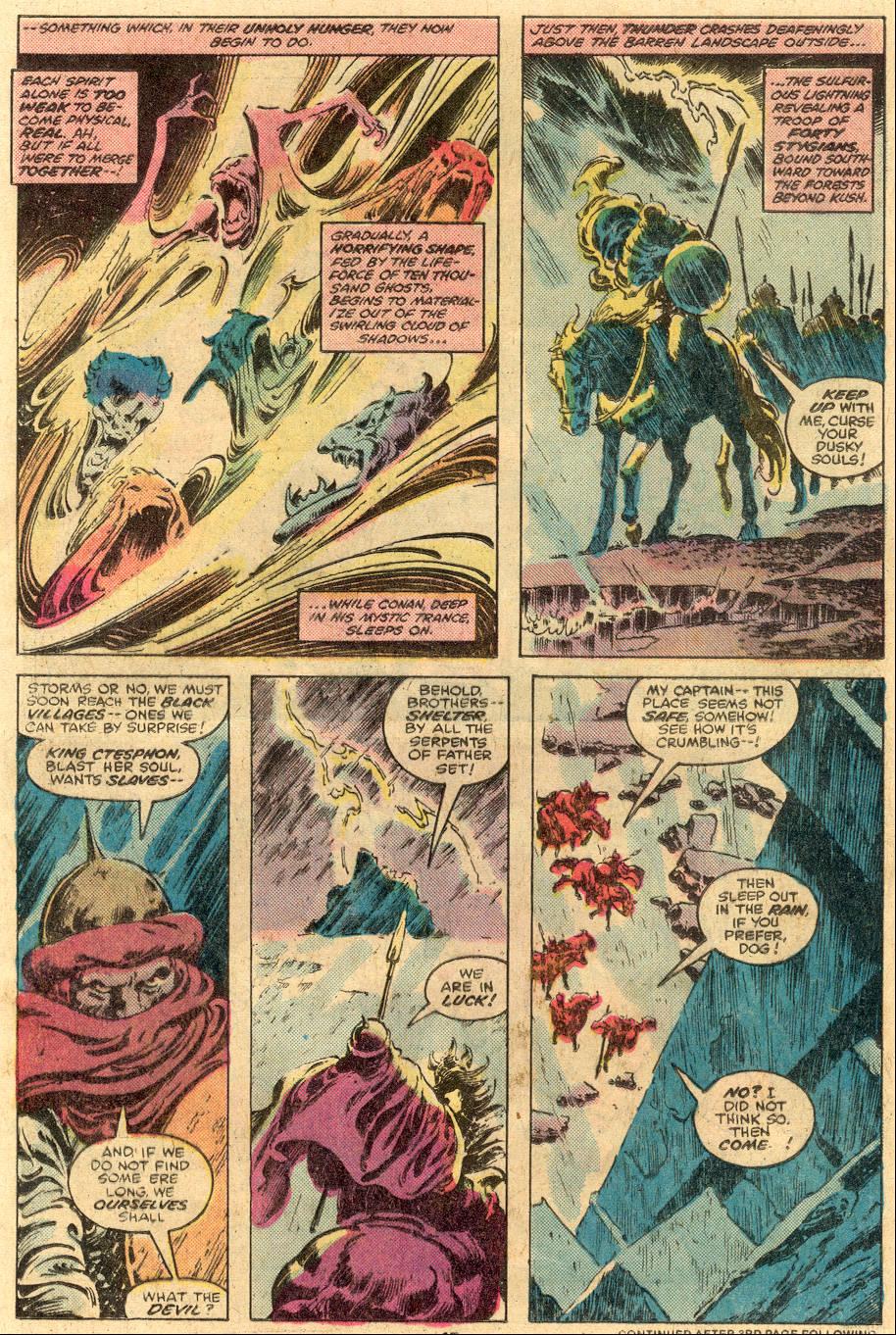 Conan the Barbarian (1970) Issue #105 #117 - English 11