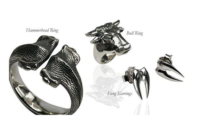 Rock Gothic Jewellery From Stepheneinhorn Co Uk