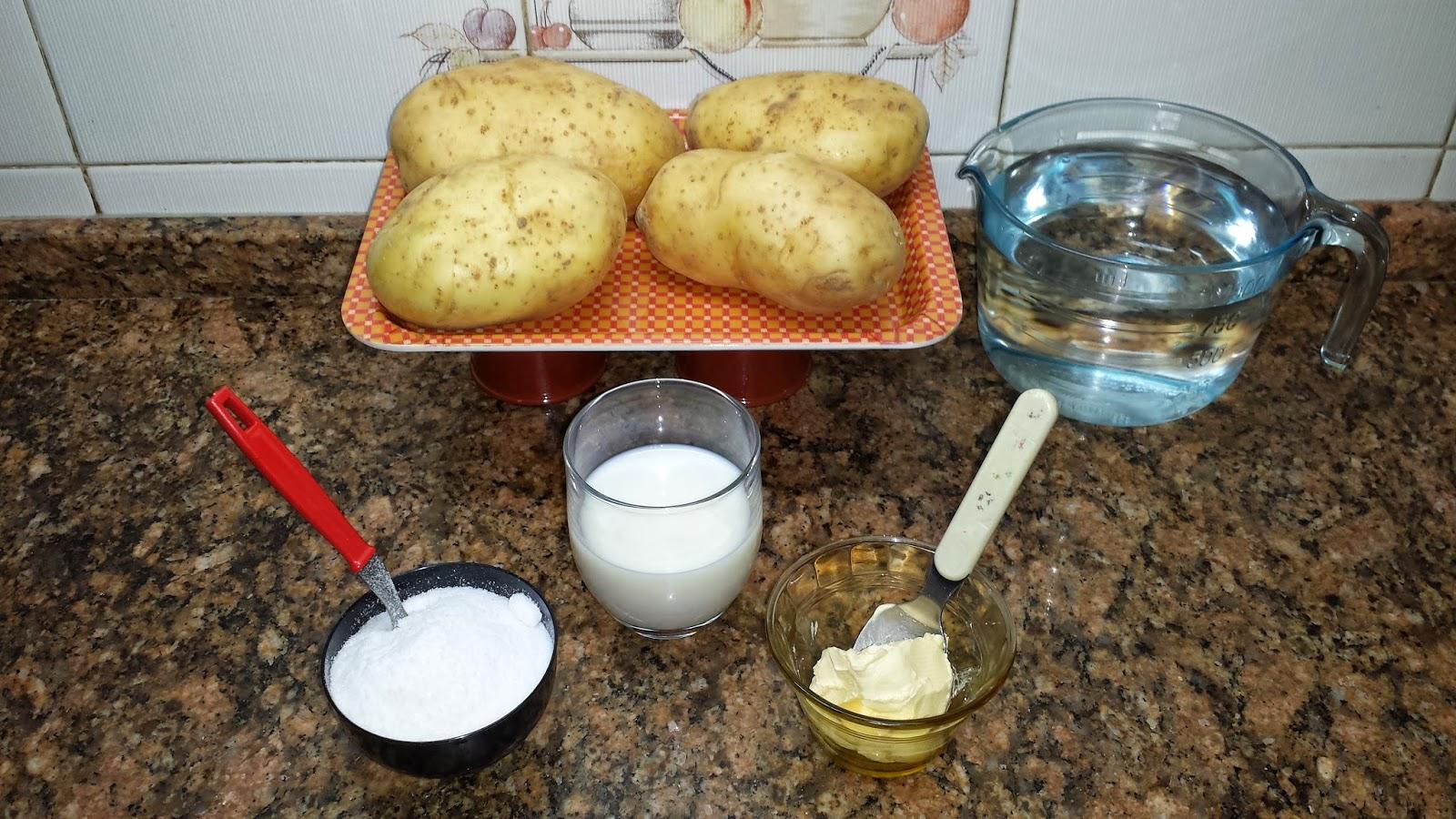 Pure de patata cremoso la cocina tradicional de cambalache3 for Cocina tradicional