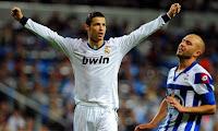 Tripletta Ronaldo Real Madrid Deportivo