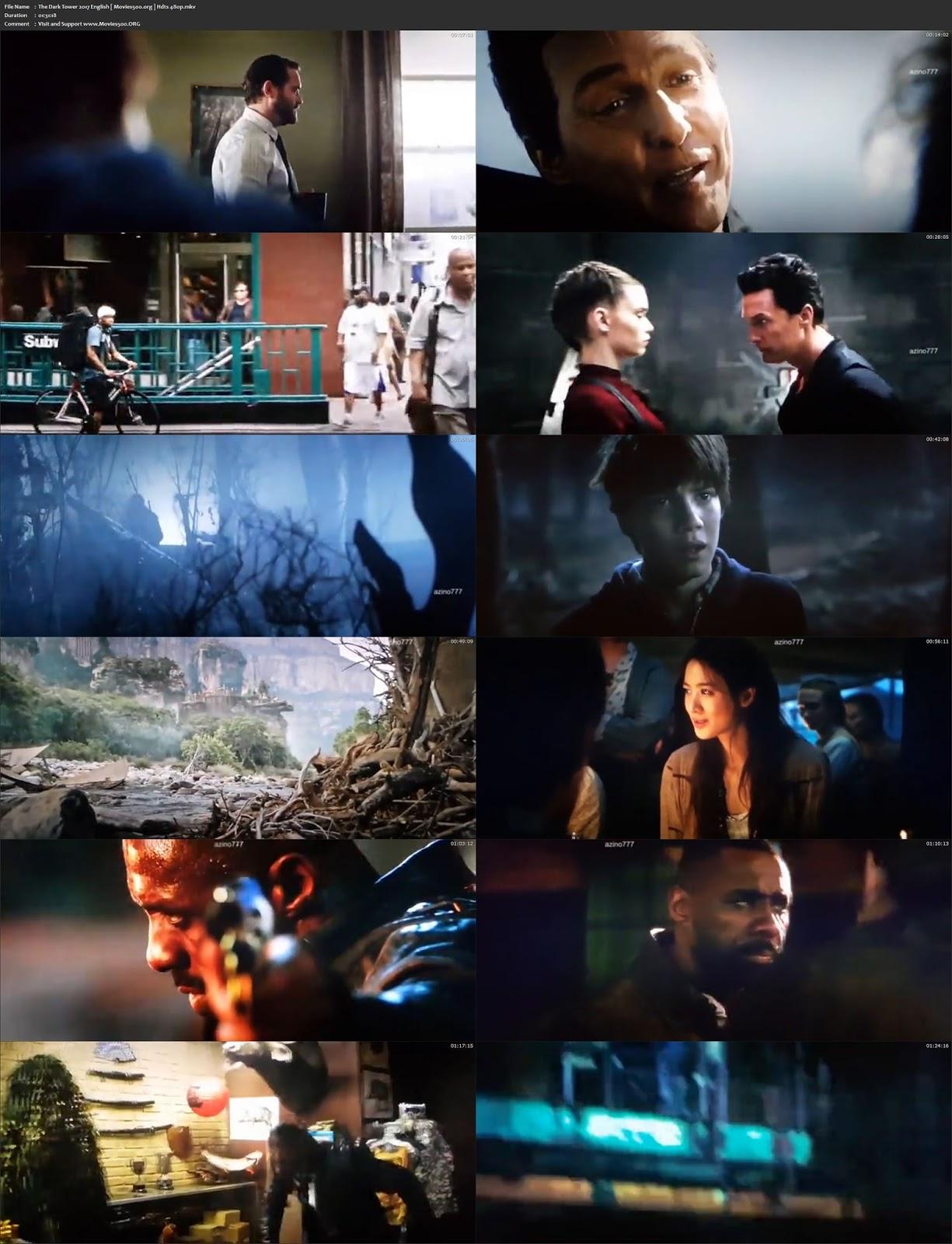 Dark Tower 2017 Hollywood 300MB Full Movie HDTS 480p at gamezun.com