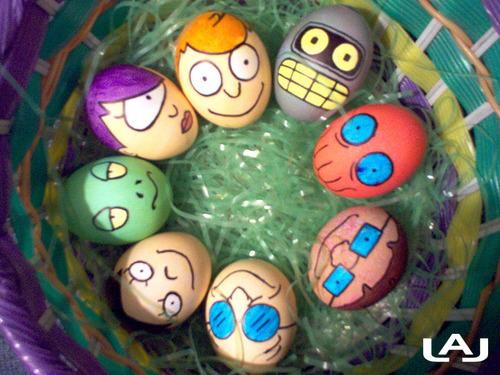 Huevos de Pascua de Futurama