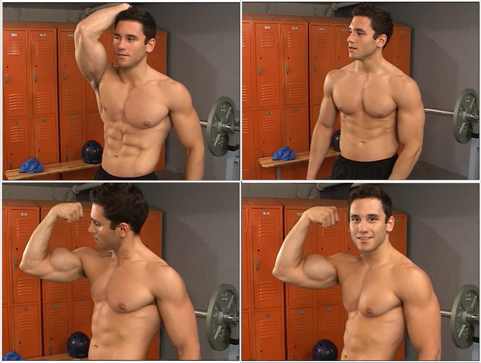 Picture About Male Fitness Athletic Model J.K. (Jake) the Newest Model on VistaVideo