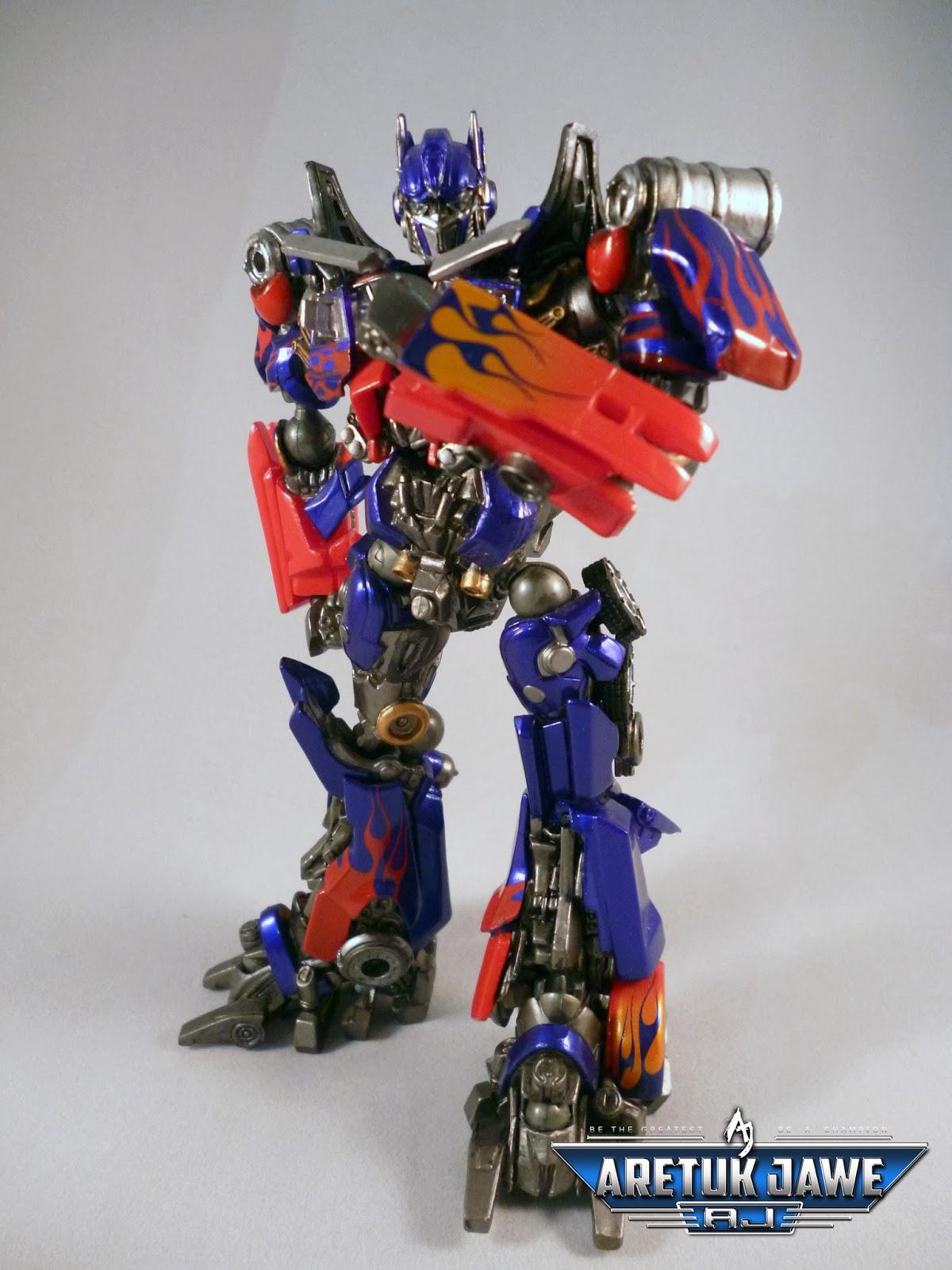 Sci Fi Transformer : Aretuk jawe sci fi revoltech series no optimus prime