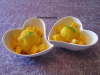 2 mango sorbet