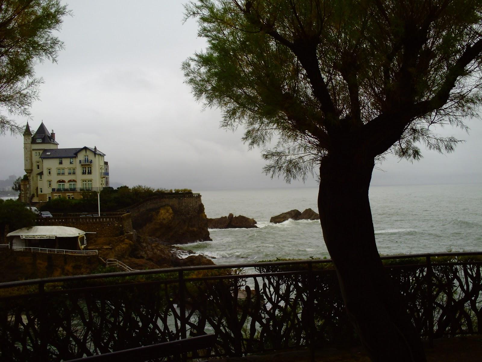 Biarritz seafront