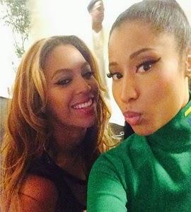 Nicki Minaj tieta Beyoncé: 'Rainha'