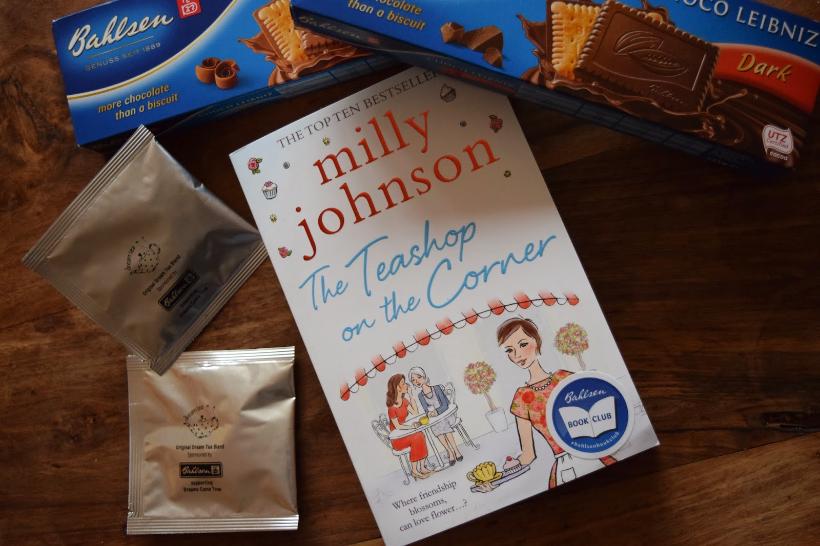 Novel, Milly Johnson, The Teashop on the Corner, book