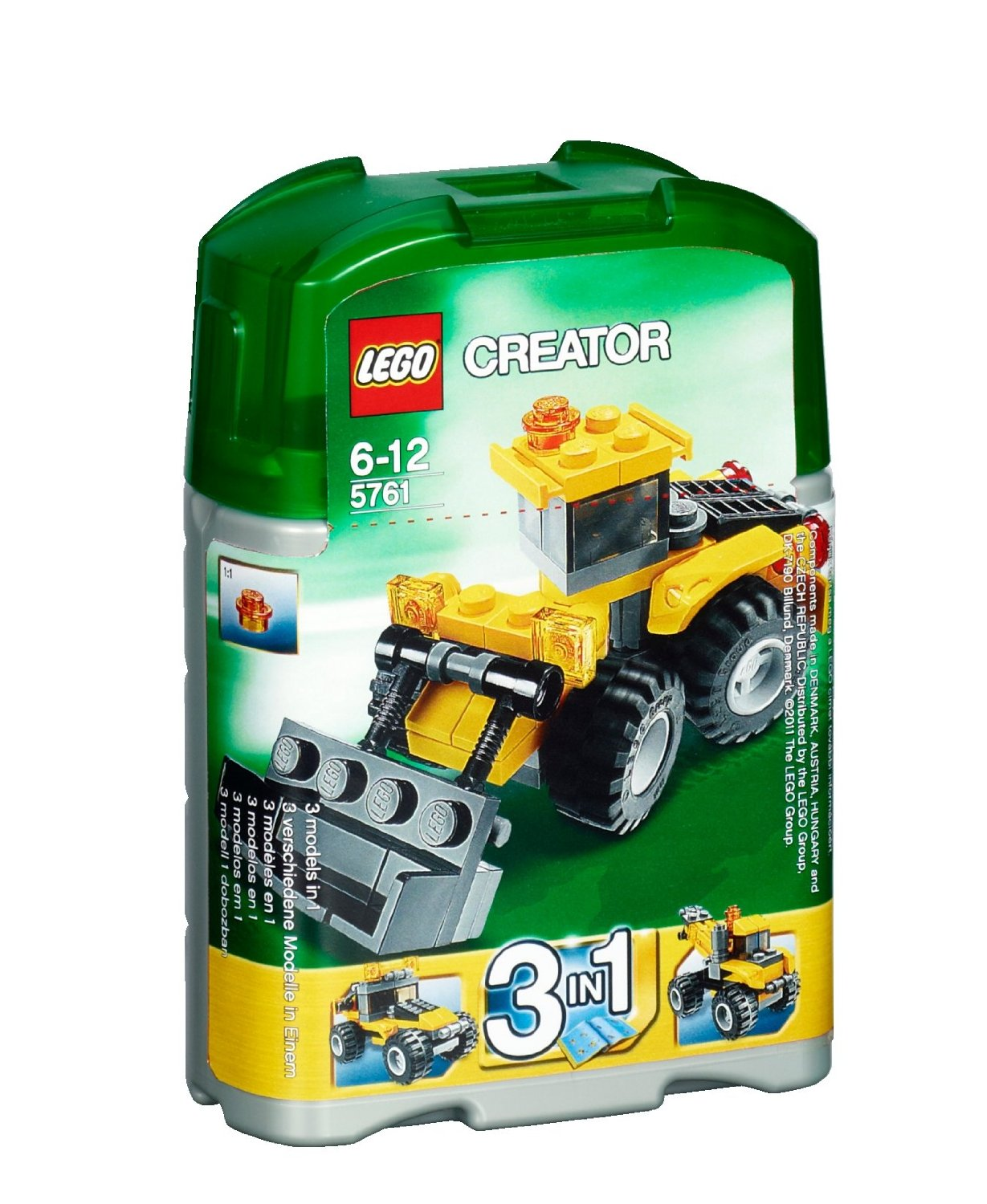 lego creator mini digger 5761 my lego style. Black Bedroom Furniture Sets. Home Design Ideas