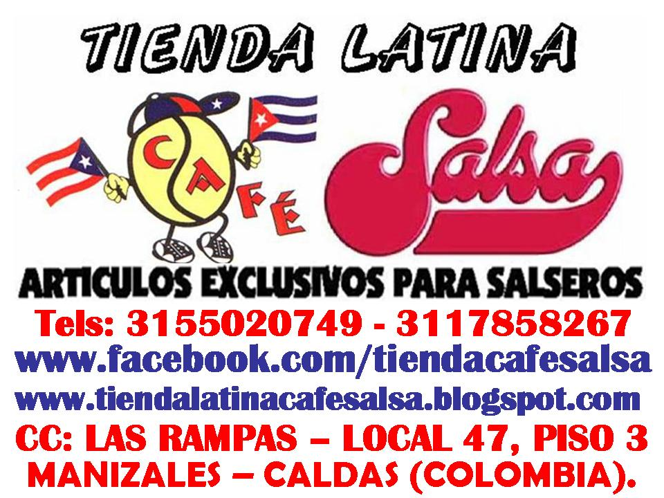 TIENDA LATINA CAFESALSA - ARTICULOS PARA SALSEROS