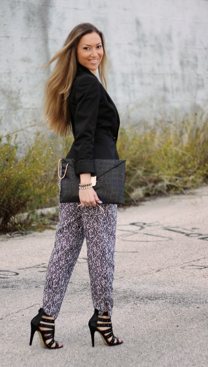 animal print look do dia blog de moda style statement tendências outono inverno 2013 2014 moda fashion blogger