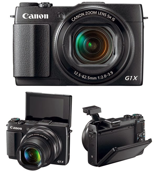 Canon PowerShot G1 X Mark II, Full HD video, mini DSLR, creative pictures, NFC, Wi-Fi, zoom lens, high-end compact camera, new camera,