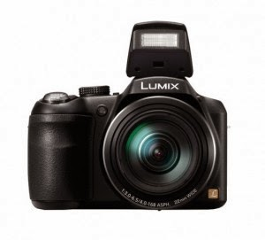 Flipkart: Buy Panasonic Lumix DMC-LZ40 Camera and 4GB Card with Pouch Rs.11500