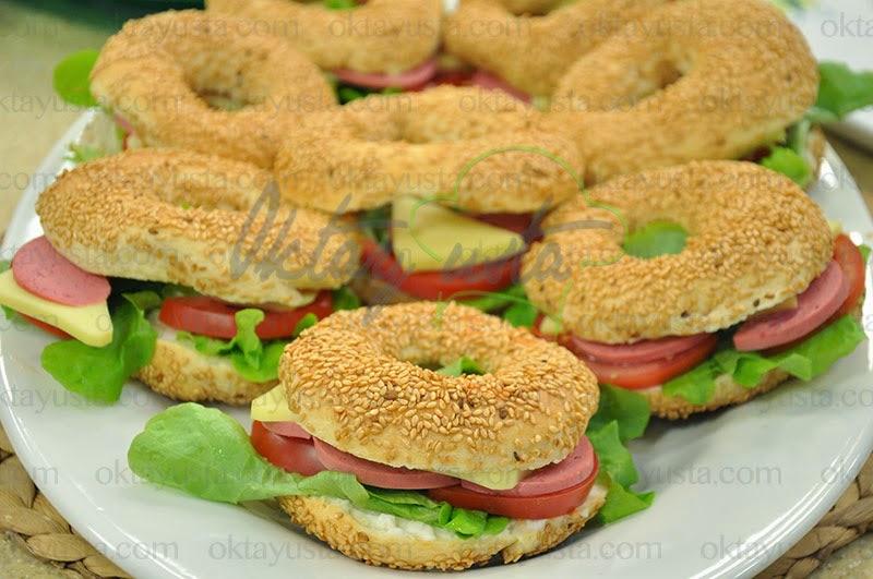 Simit Sandviç Tarifi Yapımı