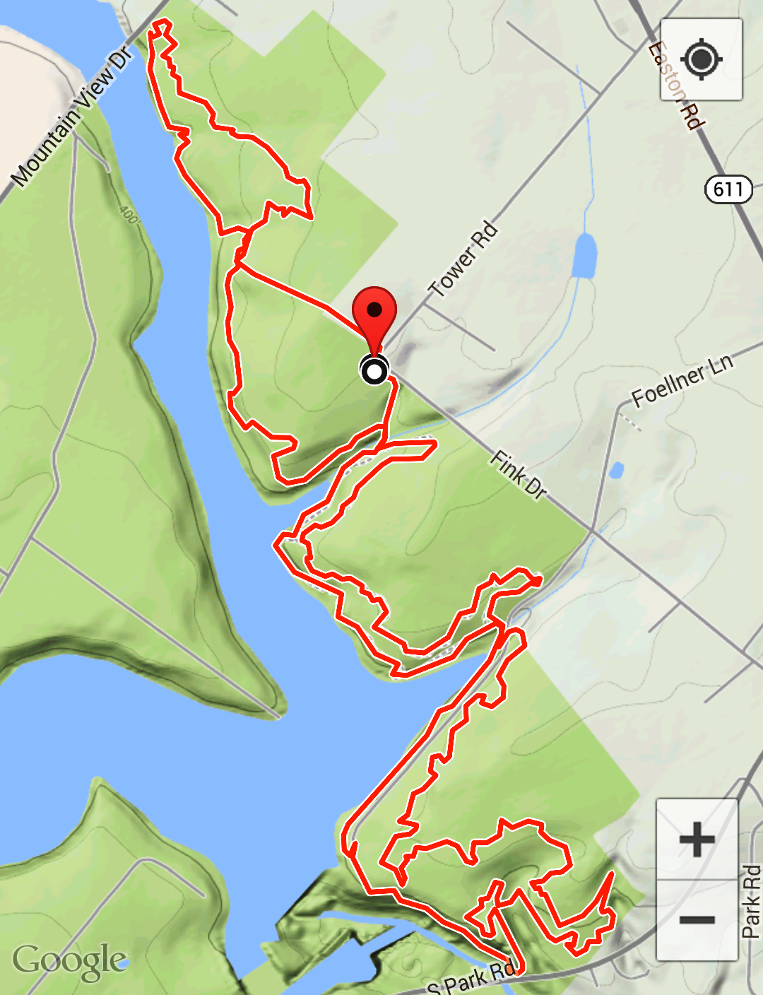 gatineau park summer trail map pdf