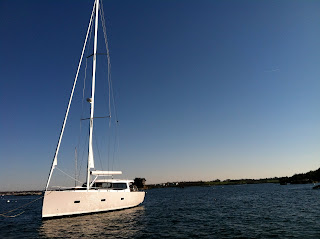Moody 45DS: Test Sail