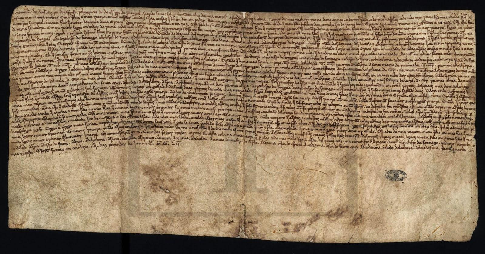 27 de Junho 2014: Língua Portuguesa fez 800 anos