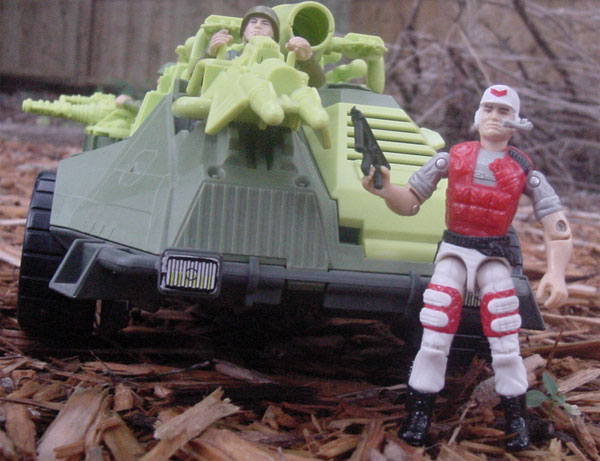 1994 Lifeline, Monster Blaster APC, 1993, Action Soldier