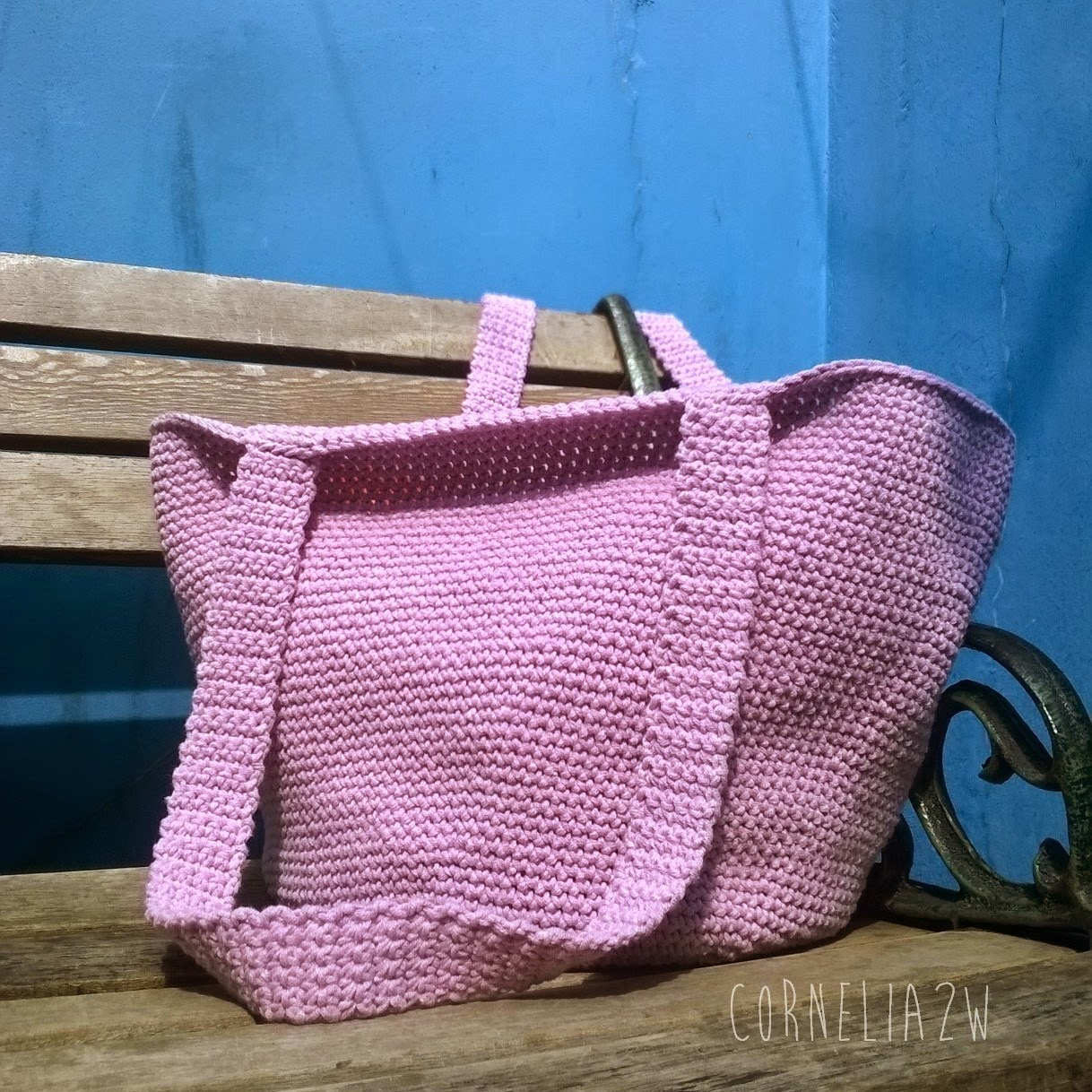 Simple Crochet Tote