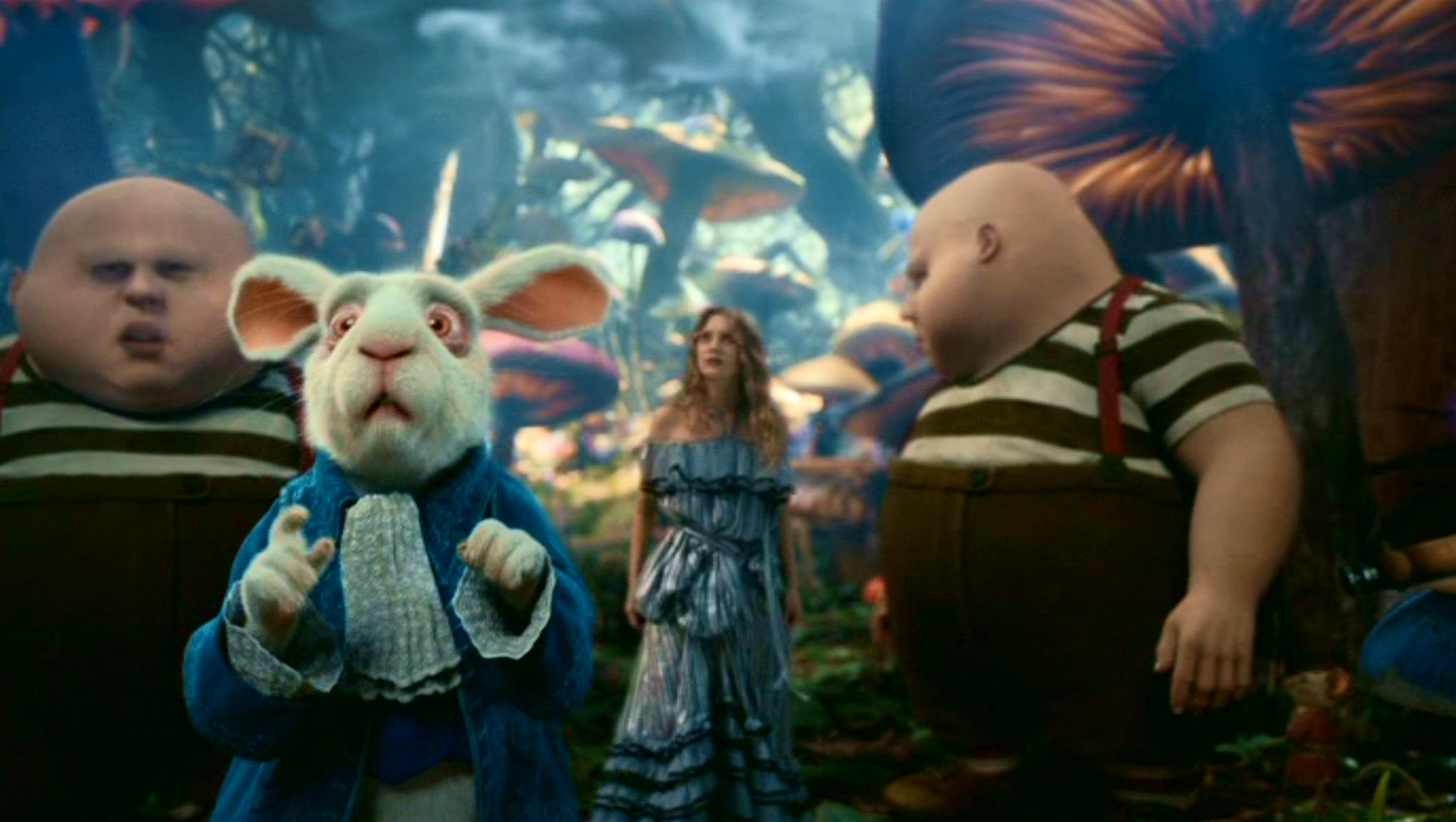 alice in wonderland characters compared to Alice is reasonable, well-trained, and polite from the start, she is a miniature, middle-class victorian lady considered in this way, she is the perfect foi.