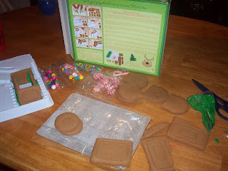 Put together Gingerbread Train.  Looks easy enough!
