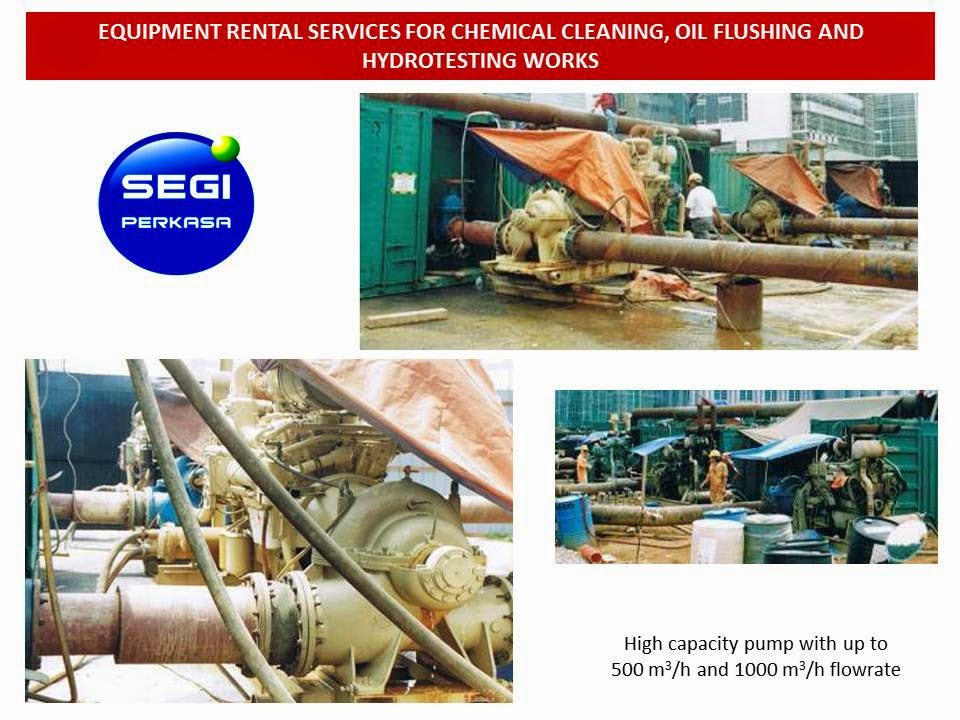 Chemical Cleaning Services : Segi perkasa m sdn bhd equipment rental services for