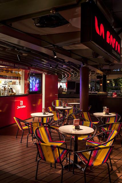La Barra, Colombian cuisine, Singapore, Star Vista Mall, the star, buena vista