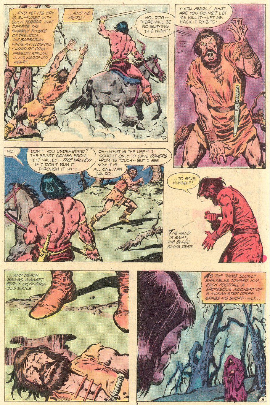 Conan the Barbarian (1970) Issue #118 #130 - English 4