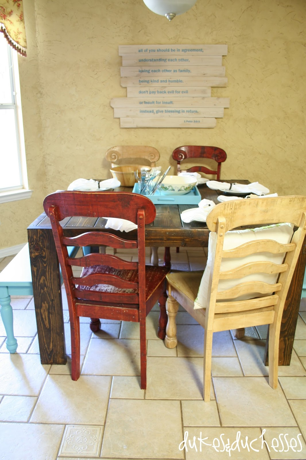 Better Homes And Gardens Kitchen Table Set A Dining Area Makeover With Better Homes And Gardens Dukes And