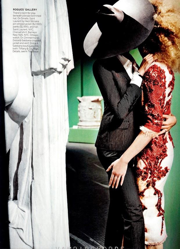O ensaio foi clicado pelo fotógrafo peruano Mario Testino. A edição de moda ficou por conta de Tonne Goodman, acostumada a trabalhar com as celebridades que estampam a capa da publicação (Foto: Divulgação)
