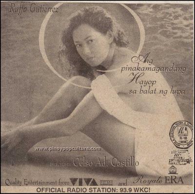 Celso Ad Castillo, movies, directors, Ang Pinakamagandang Hayop sa Balat ng Lupa
