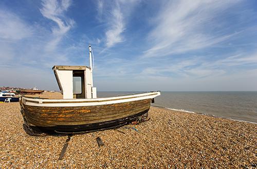 Walmer Beach, East Kent.