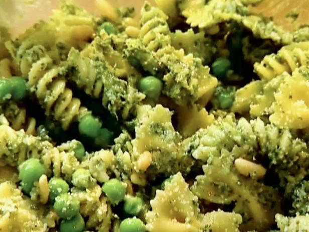 One Sweet World: Pasta, Pesto, and Peas
