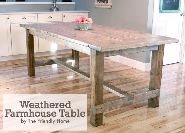 David Easy Farmhouse Table Plans Ana White Wood Plans US UK CA