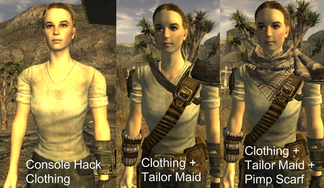 Fallout New Vegas моды на Тела