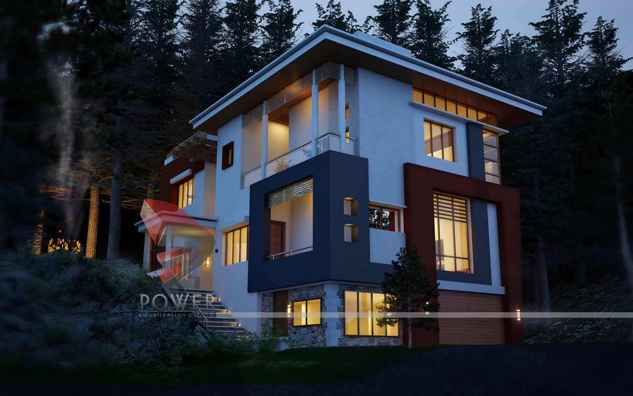 Ultra modern home designs home designs architectural for Home design 3d view