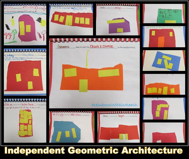 "photo of: Preschool ""Class Book"" Where I like to Visit in the Neighborhood"