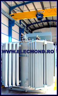 Transformator de putere in ulei  TTU-CuE- ONAN 4000 kVA 20/6,3 kV , transformator 4 MVA , transformatoare ,trafo , fabrica transformatoare , producator ,  Elecmond Electric ,