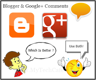 Blogger and Google+ Comments