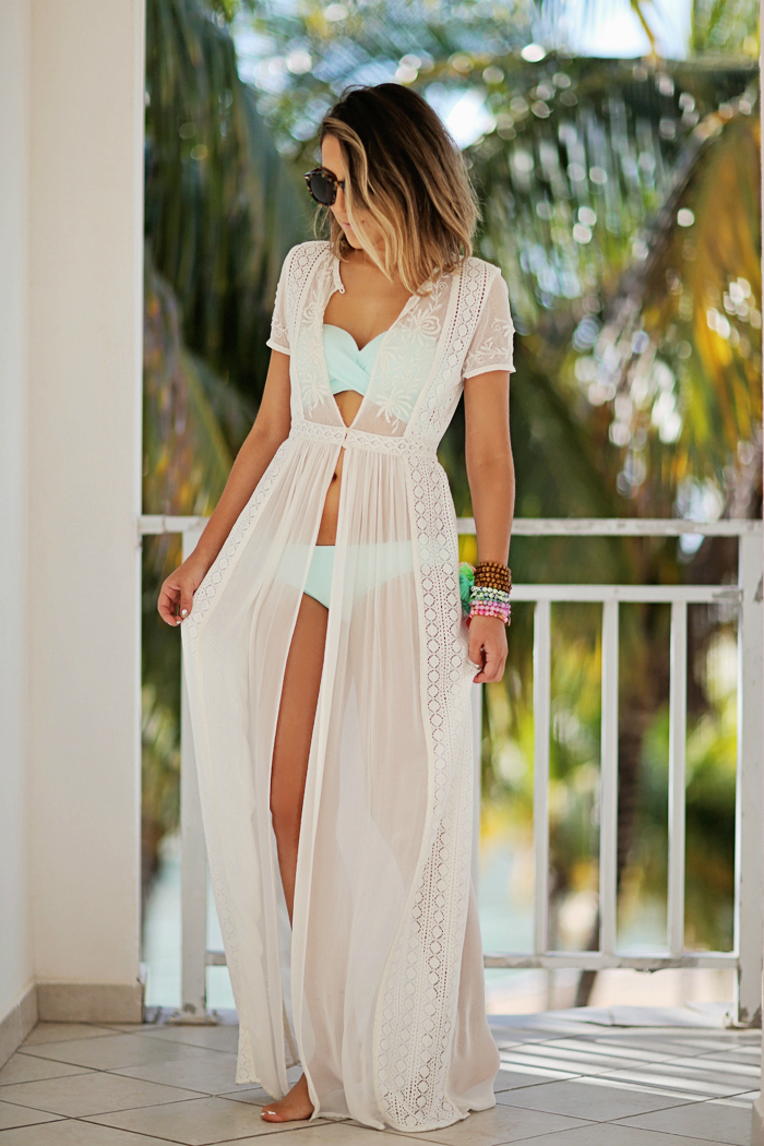 Sheer Beach Cover UPS and Dresses