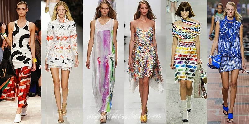 Artwork: Hot Fashion Trends For Spring Summer 2014