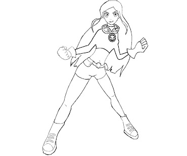 #5 Terra Coloring Page
