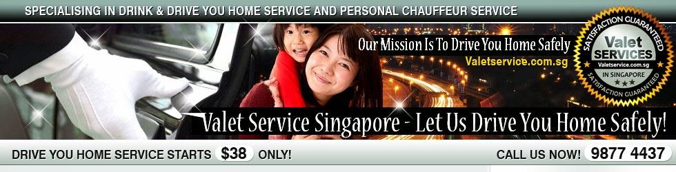 Valetservice.com.sg - Singapore #1 Valet Drive You Home Service
