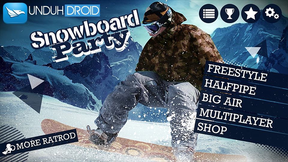 Download Snowboard Party Apk+Data MOD