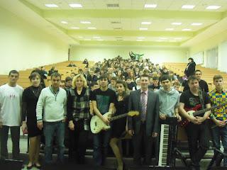 """Акція """"Майбутнє починається сьогодні"""" для студентів МДАУ та учнів загальноосвітньої школи № 35 міста Миколаєва."""