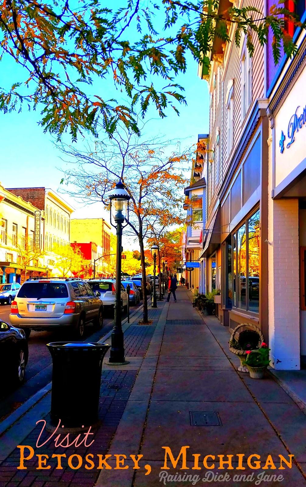 Petoskey Michigan Downtown