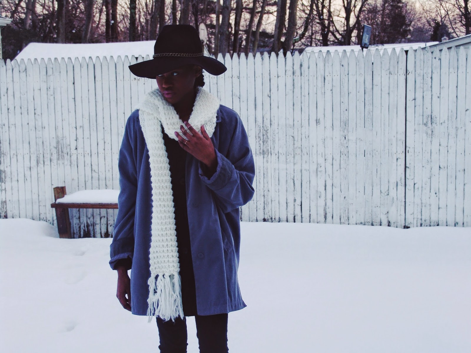 winter trends oversized coats