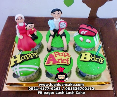 Cupcake Badminton Daerah Surabaya - Sidoarjo