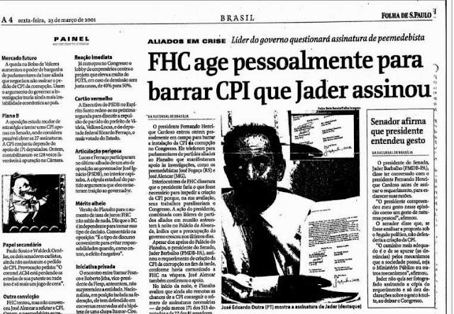 FHC++AGE+SOZINHO+PARA+BARRAR++CPI++QUE++